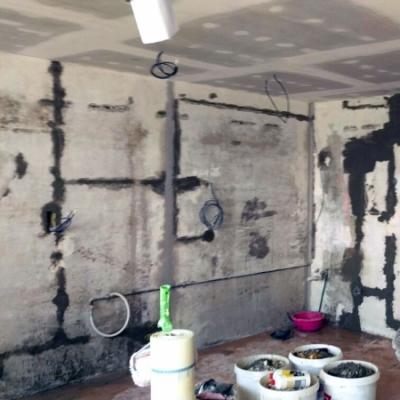 1. z 3 fotografii před - rekonstrukce bytu
